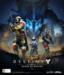 $20 XBOX Digital Gift Card, DESTINY Exp II, House of Wolves - Xbox 360 [Digital Download Add-On]