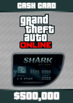 GTA Online The Bull Shark Cash Card - Windows [Digital Download Add-On]