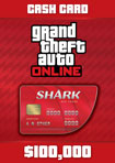 GTA Online The Red Shark Cash Card - Windows [Digital Download Add-On]
