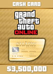 GTA Online The Whale Shark Cash Card - Windows [Digital Download Add-On]