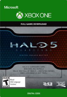 Halo 5 Guardians Digital Deluxe Edition - Xbox One [digital Download] 1000005985