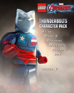 Lego Marvel's Avengers - Pre-order- Thunderbolts DLC - PlayStation 4 [Digital Download Add-On]