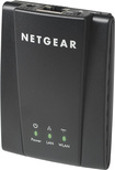Netgear - IEEE 802.11n 300 Mbps Wireless Bridge - Black