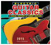 Sellers Publishing - Electric Guitar Classics 2015 Daily Calendar - Black/Red/Yellow/Green