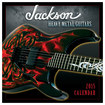 Sellers Publishing - Jackson Heavy-Metal Guitars 2015 12-Month Wall Calendar - Black/Red