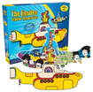Aquarius - The Beatles Yellow Submarine 600-Piece Jigsaw Puzzle - Blue/Yellow/Red/White/Green/Pink