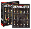 Aquarius - Fender Stratocaster 1,000-Piece Jigsaw Puzzle - Black/Red/White/Yellow/Green/Orange/Blue