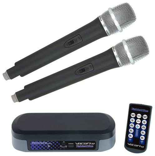 VocoPro - TabletOke Digital Karaoke Mixer - Black/Gray