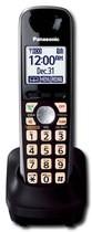 Panasonic - Kx-Tga401b Dect 6.0 Plus Digital Cordless Expansion Handset - Black