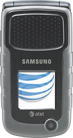 Samsung - Rugby II Mobile Phone - Gray (AT&T)