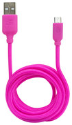Altec - 5' Micro USB-to-USB Cable - Pink