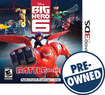Big Hero 6: Battle In The Bay - Pre-owned - Nintendo 3ds 1046109