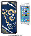 Team ProMark - NFL St. Louis Rams Bumper Case for Apple® iPhone® 6 - Black