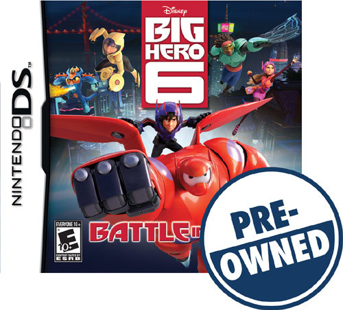 Big Hero 6: Battle in the Bay - PRE-Owned - Nintendo DS