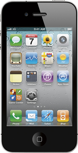 Apple iPhone 4 32GB - Black - AT & T (Refurbished)