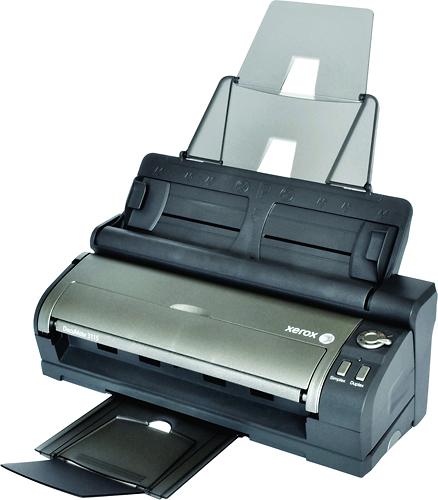 Xerox - DocuMate 3115 Mobile Scanner with Desktop Docking Station - Black