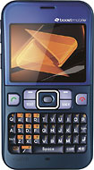 Boost Mobile - Sanyo Juno No-Contract Mobile Phone - Blue