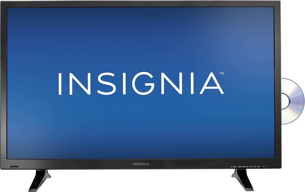 "Insignia - 32"" Class (31.5"" Diag.) - LED - 720p - HDTV DVD Combo - Black"