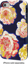 Isaac Mizrahi New York - Hard Shell Case for Apple° iPhone° 5 and 5s - Navy/Pink/White