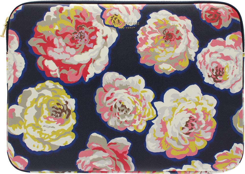 Isaac Mizrahi New York - Laptop Sleeve - Navy/Pink/White/Yellow