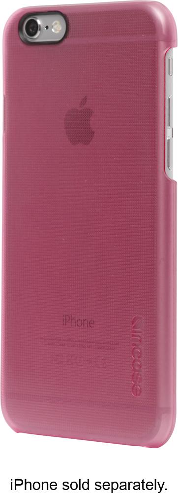 Incase - Quick Snap Case for Apple® iPhone® 6 - Digi/Bright Pink