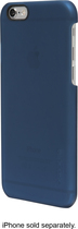 Incase - Quick Snap Case for Apple® iPhone® 6 - Blue Moon Soft Touch