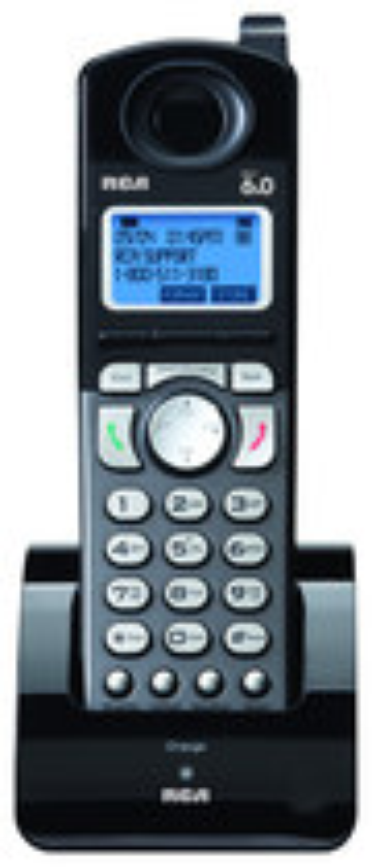RCA - 25055RE1 DECT 6.0 Digital Cordless Expansion Handset - Black
