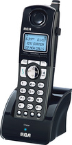 RCA - H5401RE1 DECT 6.0 Digital Cordless Expansion Handset - Black