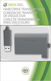 "Microsoft - 28.5"" Data Transfer Cable for Xbox 360 - Gray"