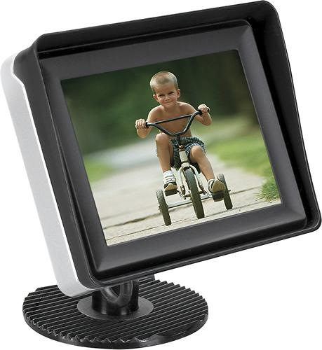 Audiovox - 3.5 TFT-LCD Rear Observation Monitor - Black