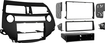 Metra - Double DIN Installation Kit for Select Honda Accord and Crosstour Vehicles - Black