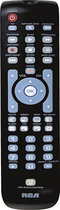 RCA - 3-Device Universal Remote - Black