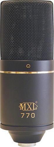 MXL - Condenser Microphone - Black
