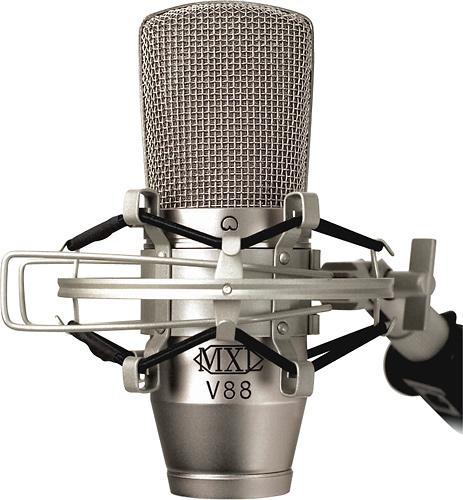MXL - Studio Condenser Microphone - Nickel