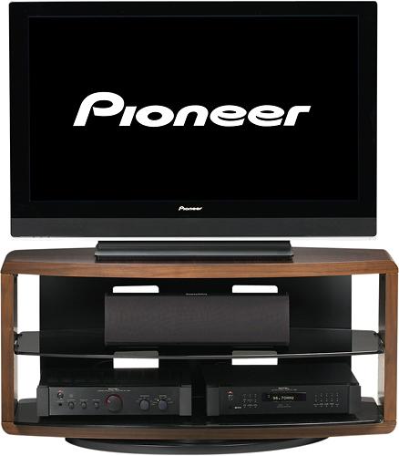 "BDI - Valera Swivel TV Stand for Flat-Panel TVs Up to 50"" - Chocolate"