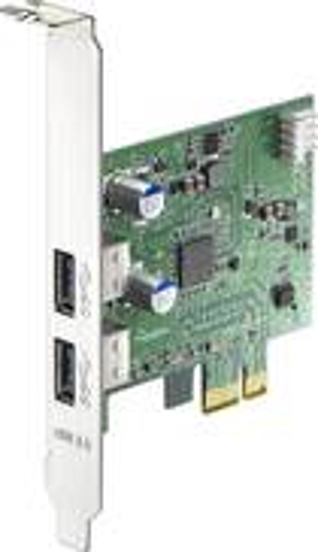 Rocketfish - 2-Port USB 3.0 PCI Express Interface Card