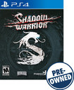 Shadow Warrior - Pre-owned - Playstation 4