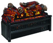 Comfort Glow - Electric Log Set with Heater - Black/Multi