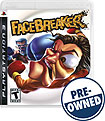 FaceBreaker — PRE-OWNED - PlayStation 3