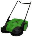 Bissel - BigGreen Commercial Push Power Sweeper - Green
