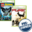 LEGO Batman: The Video Game/Pure — PRE-OWNED - Xbox 360