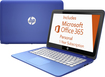 "HP - Stream 13.3"" Touch-Screen Laptop - Intel Celeron - 2GB Memory - 32GB Flash Storage - Horizon Blue/Light Turquoise"