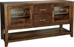 "Whalen Furniture - High Console TV Stand for Flat-Panel TVs Up to 65"" - Cherry"