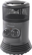 Honeywell - Mini Tower Heater - Slate Gray