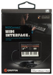 Griffin Technology - MIDIConnect MIDI Audio Interface - Black