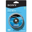 Sony - DVD Recordable Media - DVD-R - 1.40 GB - 10 Pack Spindle