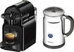 Nespresso - Inissia/aero+ Espresso Maker And Milk Frother - Black