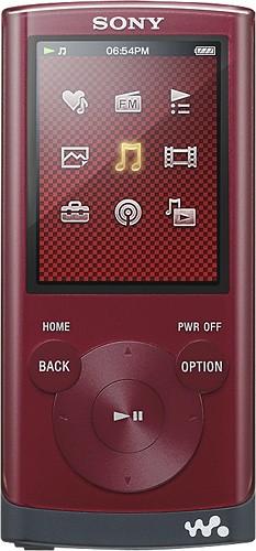 Sony - Walkman 4GB* MP3 Player with FM Radio - Red