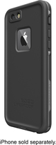 LifeProof - FRE Hard Case for Apple® iPhone® 6 - Black