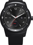 LG - G Watch R Android Wear Smartwatch for Android Devices - Black